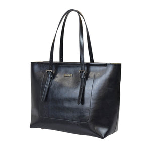 Black Friday's Most Fashionable Leather Tote Bag and Wallet Bundle