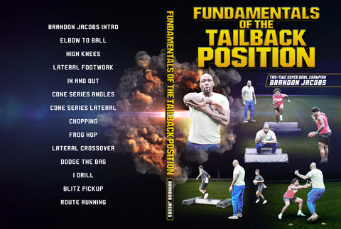 Fundamentals of The Tail Back Position by Brandon Jacobs