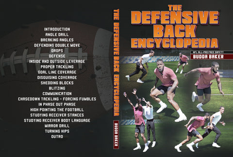 The Defensive Back Encyclopedia by Budda Baker
