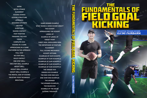 The Fundamentals of Field Goal Kicking by Ka'imi Fairbairn
