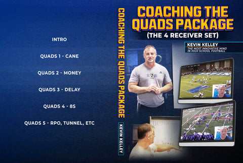 Coaching The Quads Package by Kevin Kelley