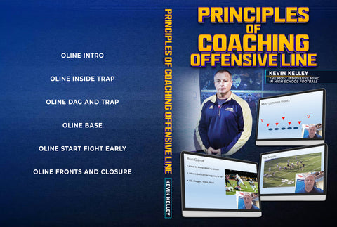 Principles Of Coaching Offensive Line by Kevin Kelley