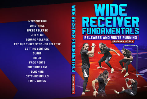 Wide Receiver Fundamentals by Krishawn Hogan