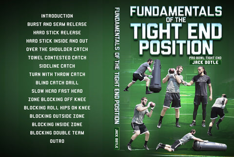 Fundamentals of the Tight End Position by Jack Doyle