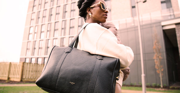 A CLOSER LOOK: A SUSTAINABLE LEATHER BAG