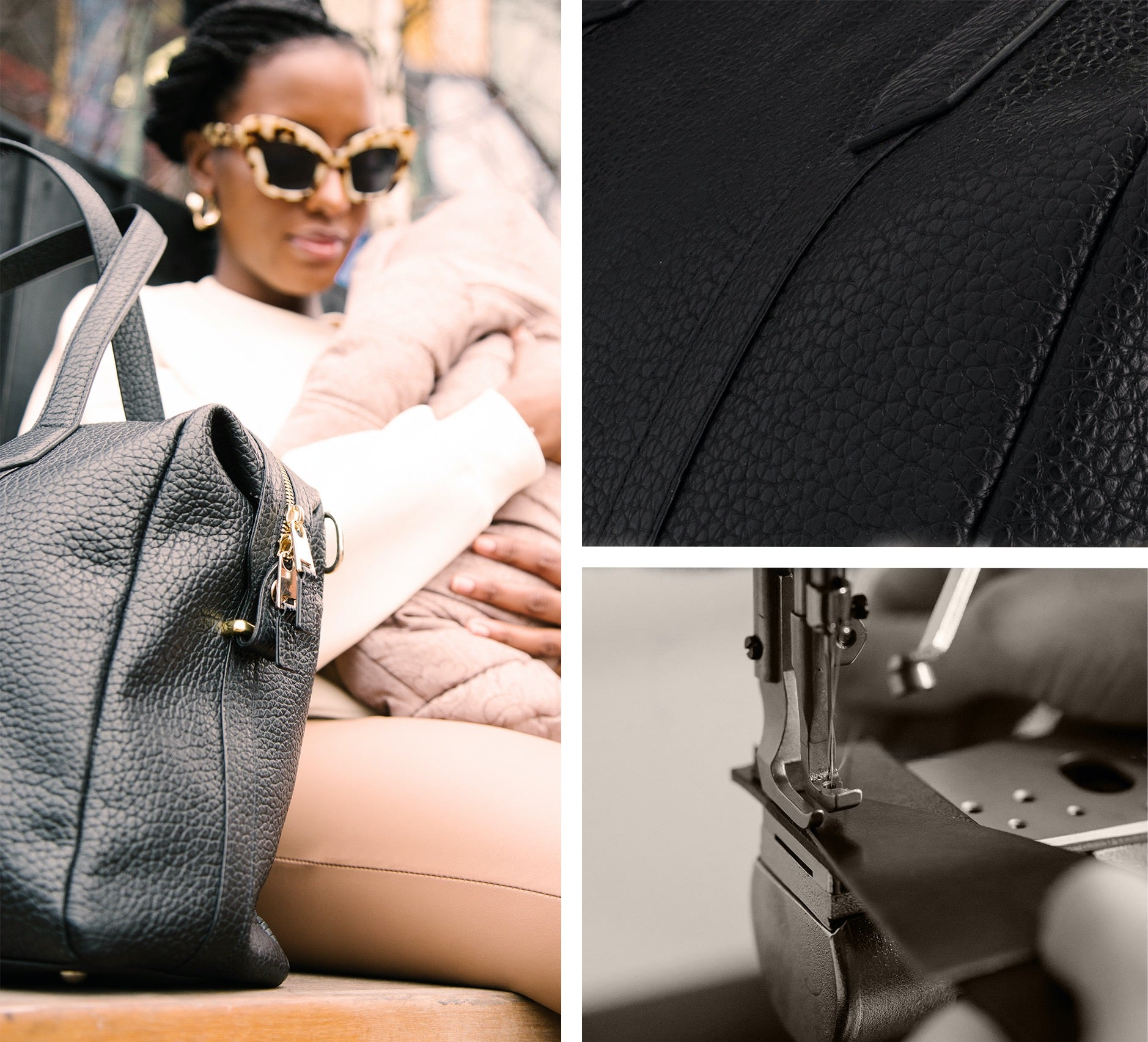 Responsibly sourced leather | Storksak | Lyra Leather