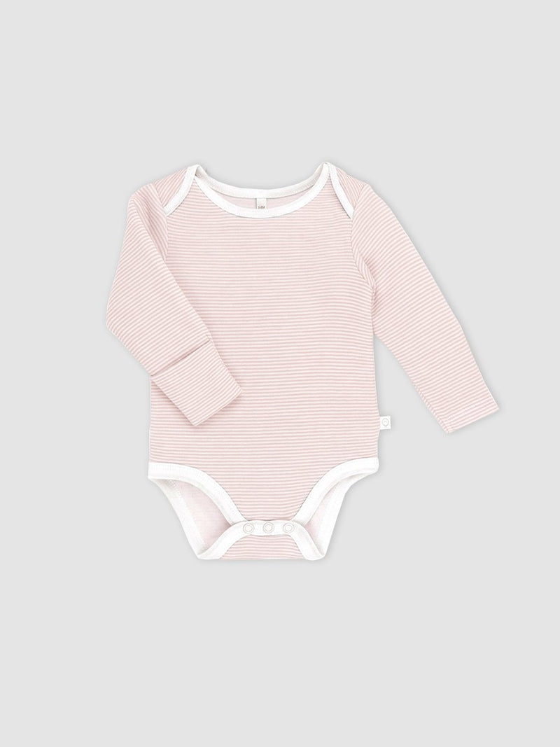 Mori bodysuit Blush Stripe