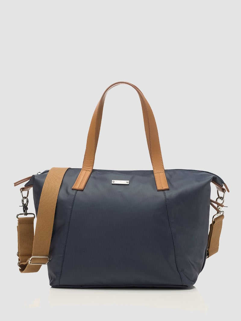 Storksak Noa Navy Changing Bag l Front View