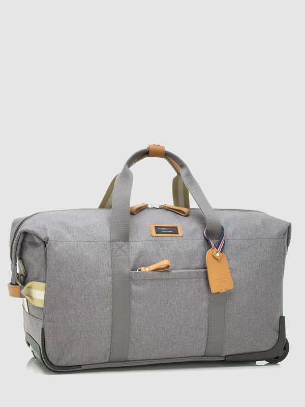 storksak travel cabin carry-on grey, hospital bag, front view