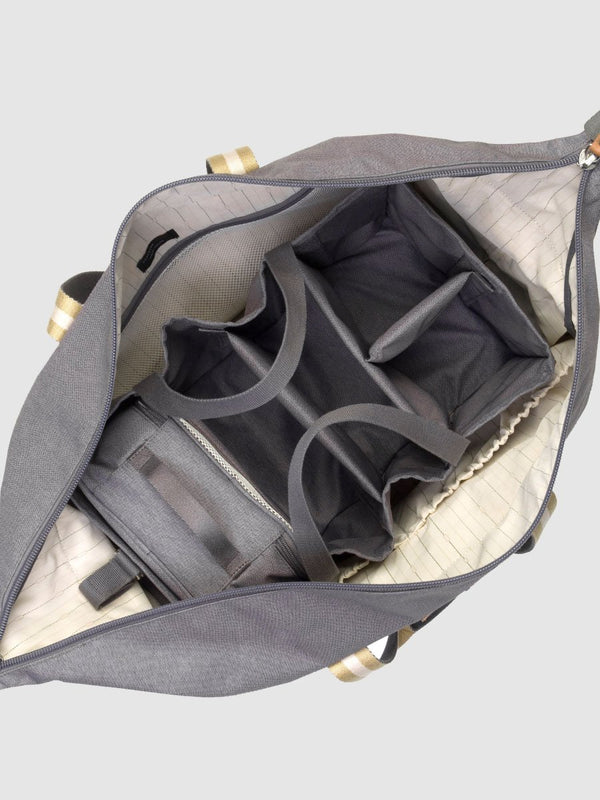 storksak travel cabin carry-on grey, hospital bag, hanging organiser inside the bag