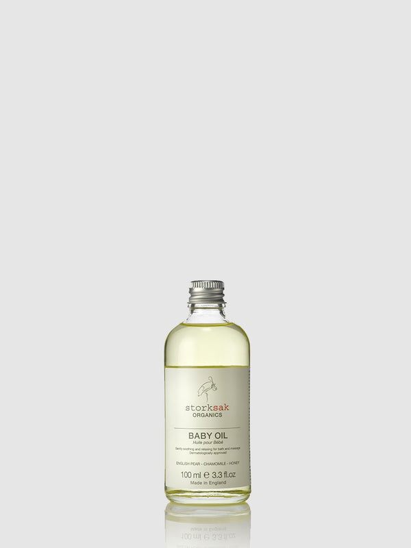 storksak organics baby oil, 100ml