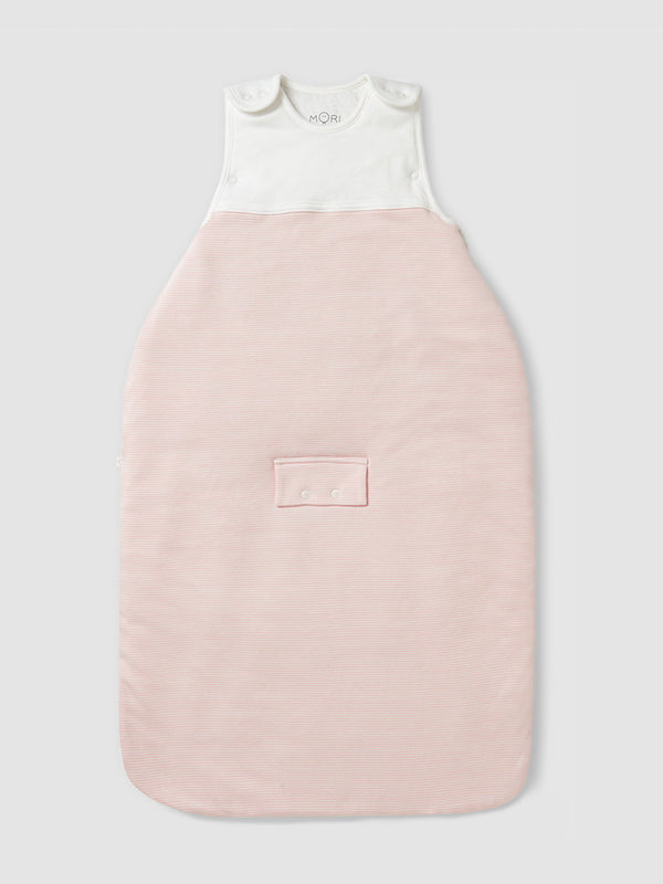 Mori Clever Sleeping Bag Blush Stripe