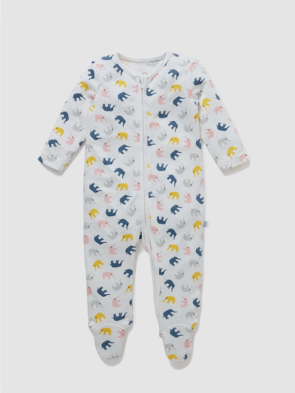 Mori Sleepsuit Little Elephant