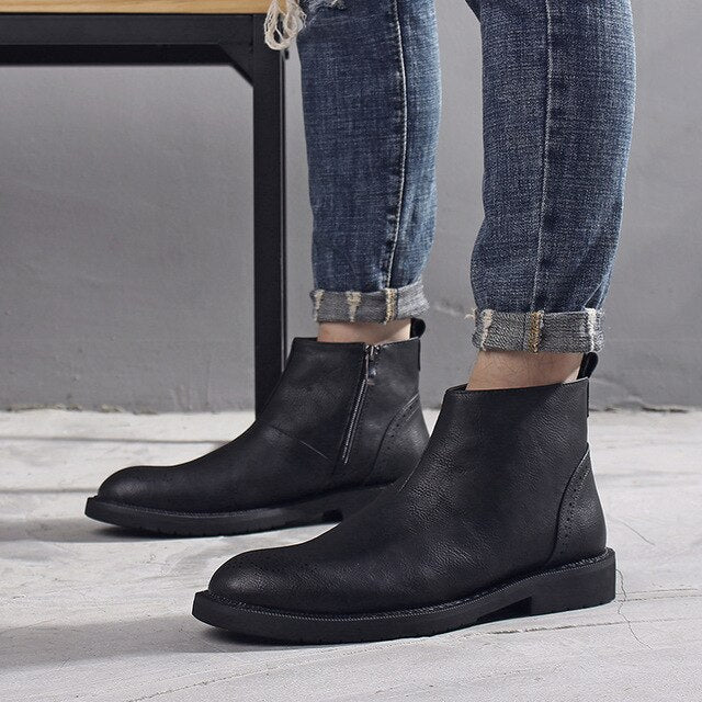 Staple Sole Mens Chelsea Boots
