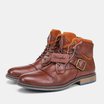 Staple Sole Mens Leather Dress Boot