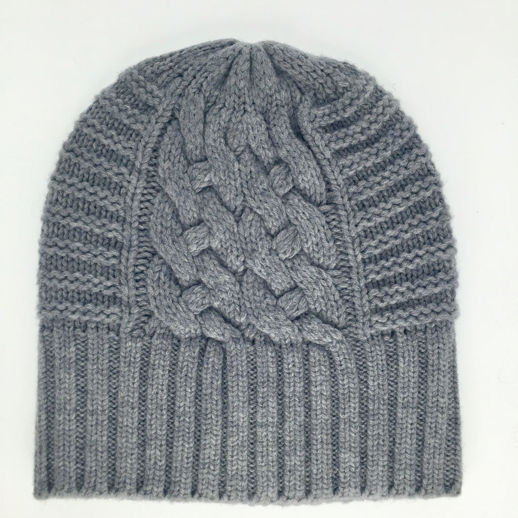 UP for Anything!  100% Pure Wool, Dove Grey