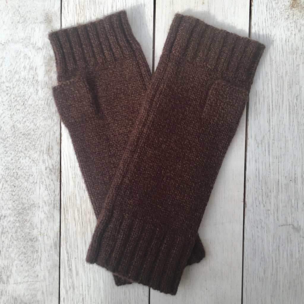 Gotta Hand it to YOU Pure Cashmere Fingerless Glove - Big Bear