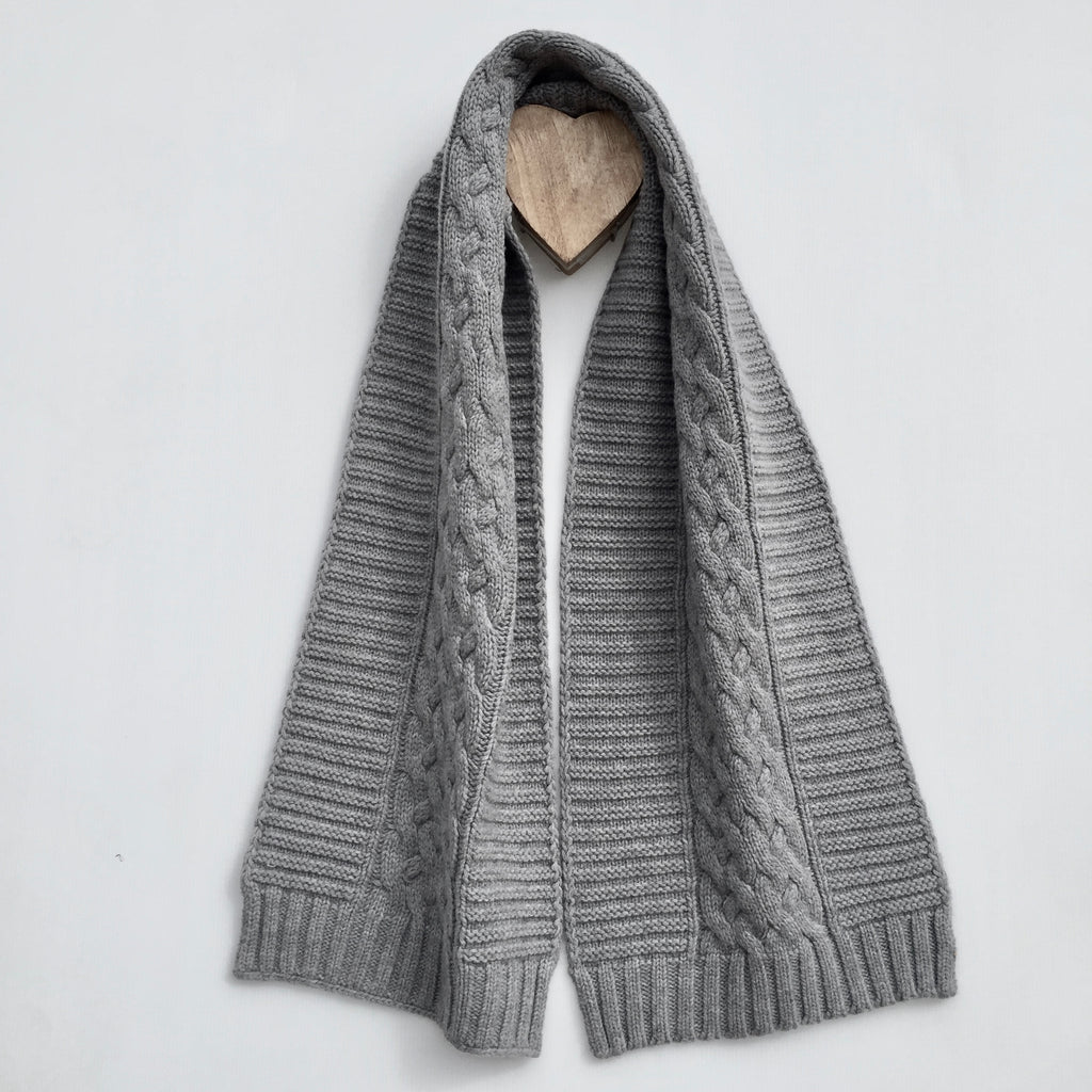 UP for Anything!  100% Merino Pure Wool - Dove Grey