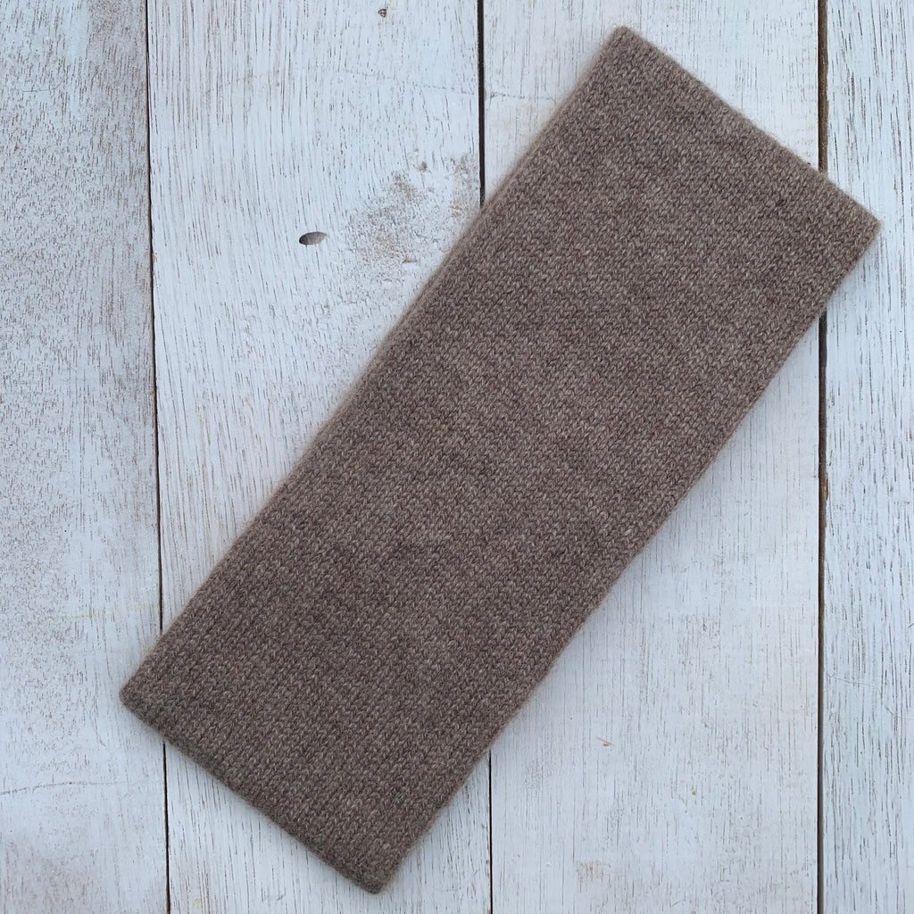 Keep YOUR head HIGH, 100% Pure Cashmere, Donkey Brown