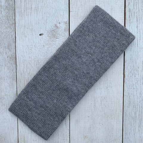 Keep YOUR head HIGH, 100% Pure Cashmere, Marle Grey