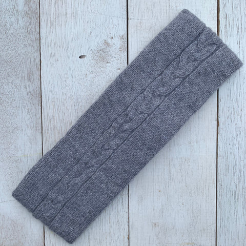 Happy to face ANYTHING, 100% Pure Cashmere, Marle Grey
