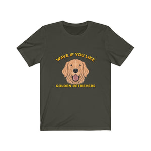 Golden Retrievers - Unisex Jersey Short Sleeve Tee