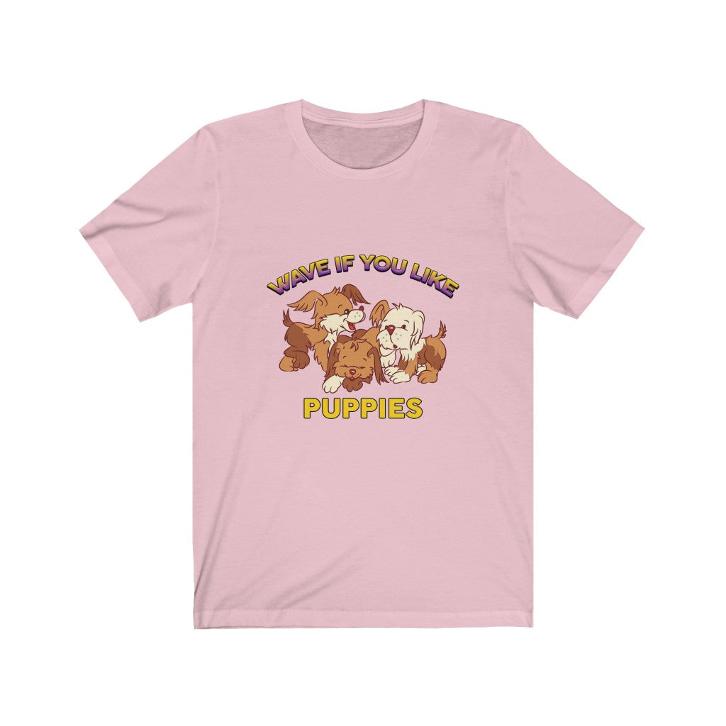 Puppies - Unisex Jersey Short Sleeve Tee