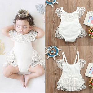 Summer Baby Girls rompers newborn Infant Lace