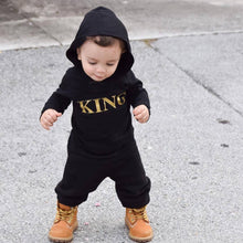 "Load image into Gallery viewer, ""King"" infant romper"