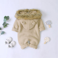 Load image into Gallery viewer, Winter Autumn Hooded Rompers