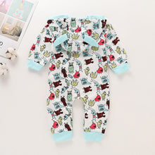 Load image into Gallery viewer, Funky Cartoon Baby Romper