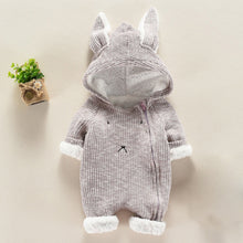 Load image into Gallery viewer, Cute Bunny Infant Romper