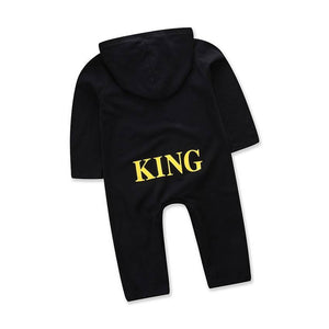 """King"" infant romper"