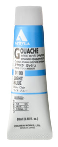 Holbein Acryla Gouache- Light Blue (D100)