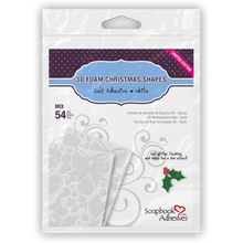 Load image into Gallery viewer, Scrapbook Adhesives 3D Foam Christmas Shapes - Limited Edition (01217)