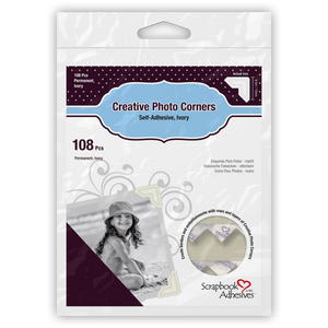 Scrapbook Adhesives Creative Photo Corners Ivory (01629)