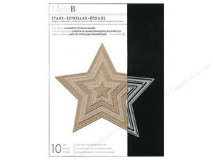 Little B Designer Cutting Dies - Stars (100393)