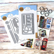 Load image into Gallery viewer, Elizabeth Craft Designs Limited Edition Phone Booth Kit (K003)