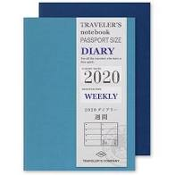 Traveler's Company Passport Size Weekly Diary 2020 (14412-006) SALE