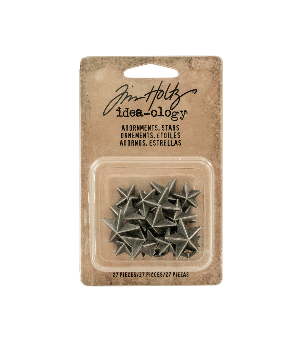 Tim Holtz Idea-ology- Adornments, stars (TH93562)