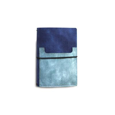 Elizabeth Craft Designs Traveler's Notebook Essentials- Planner- Blue Jeans (TN02)