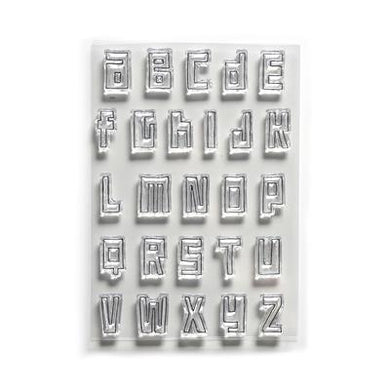 Elizabeth Craft Designs Traveler's Notebook Essentials Stamps - Block Alphabet (CS178)