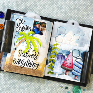 Elizabeth Craft Designs Summer Journal Special Kit (K002)