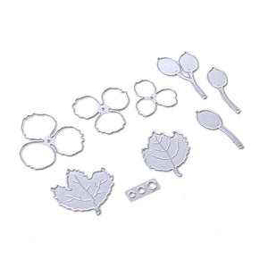 Elizabeth Craft Designs Die Set - Florals 4 (1776)