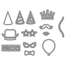 Load image into Gallery viewer, Elizabeth Craft Designs - Party Accessories Die Cut Set (1621)