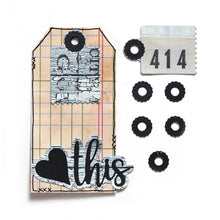 Load image into Gallery viewer, Elizabeth Craft Designs Planner Essentials Dies - Reinforcement Pack 2 (1812)