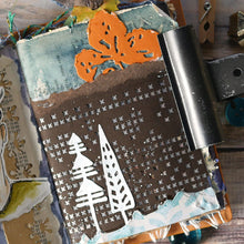 Load image into Gallery viewer, Elizabeth Craft Designs Art Journal Specials - Winter Home Pocket (1820)