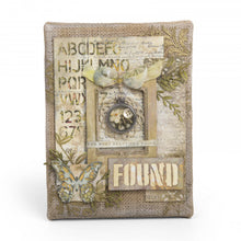Load image into Gallery viewer, Sizzix Tim Holtz- Alterations Thinlits Dies- Mixed Media #6 (662689)