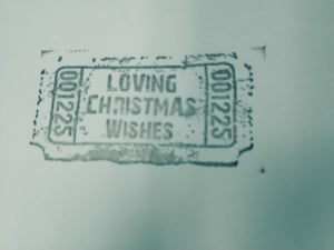 Magnolia Rubber Stamps- EZ Mounted Stamp- Loving Christmas Wishes (M621)