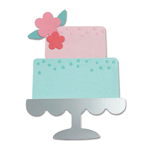 Sizzix Bigz Die - Celebration Cake (665095)